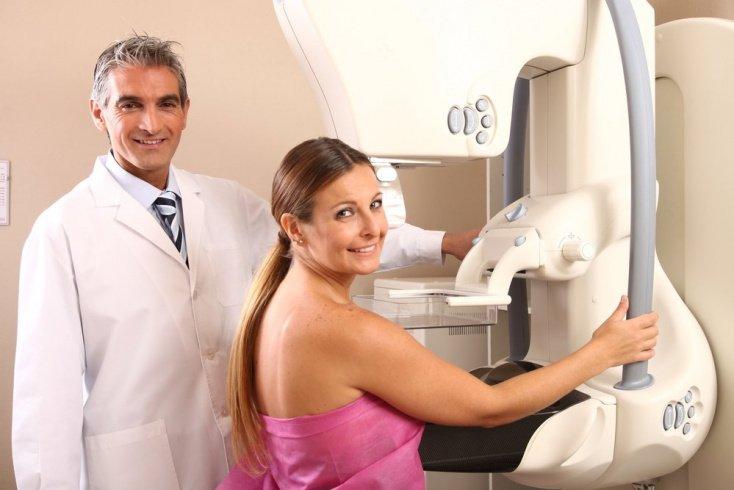 Маммография при диффузной и узловой мастопатии