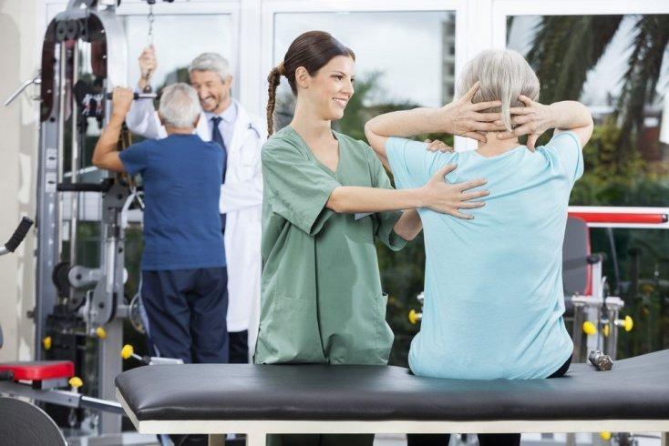 Восстанавливающие упражнения в положении сидя