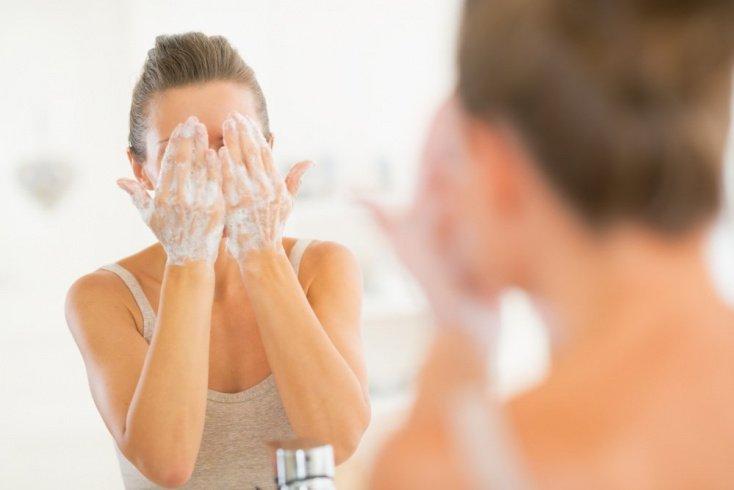Щелочные «умывалки» для лица
