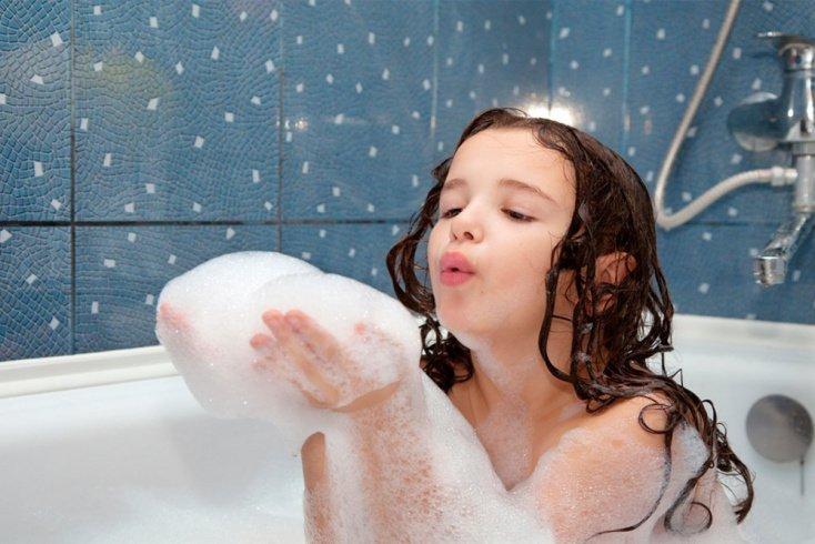 Гигиена тела с раннего детства