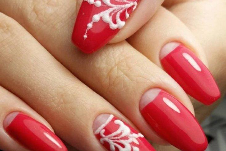 «Пудровые» бутоны Источник: beauty-hands.ru