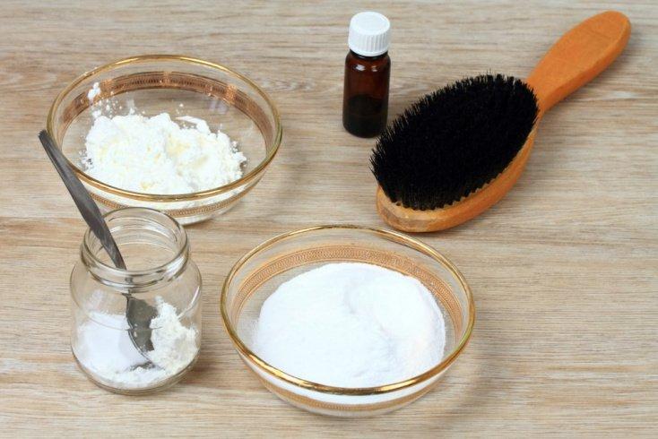 Сода для мытья волос, загрязненных средствами для укладки