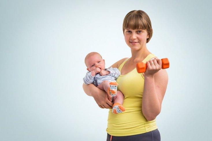 Как вернуть форму и убрать живот после родов?