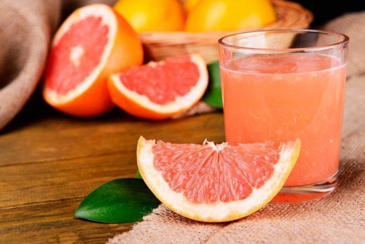 Грейпфрутовый напиток с имбирем