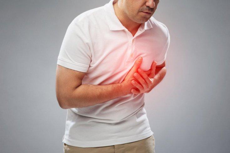 Сердце мужчины поражается раньше