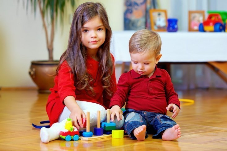Брат и сестра — полная противоположность интересов