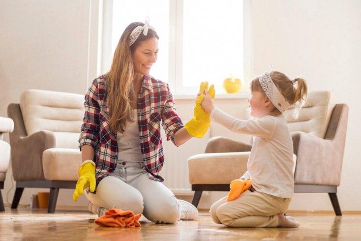 Особенности воспитания детей и домашний труд