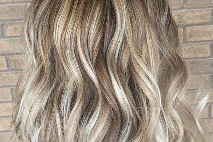 Крем-сода на волосах