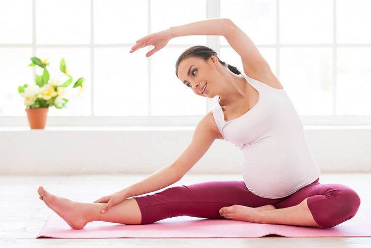 Рекомендуемые упражнения для беременных