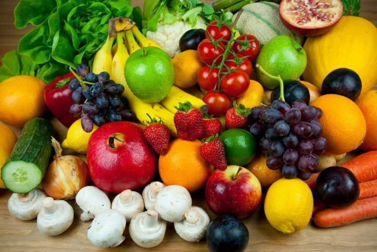 Больше фруктов и овощей