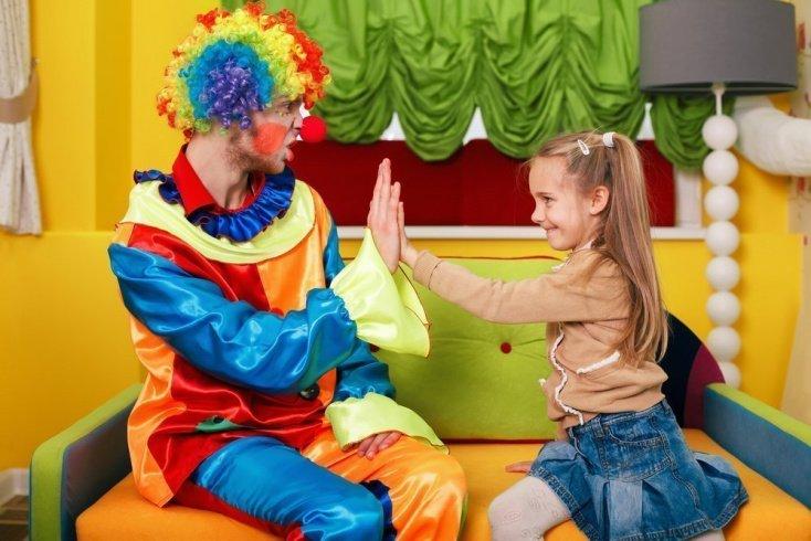 Дети в цирке