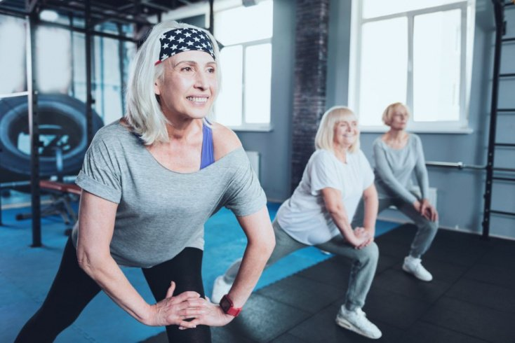 Польза упражнений для пожилых людей