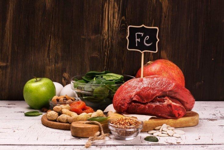 Продукты питания, позволяющие предотвратить симптомы недостаточности железа