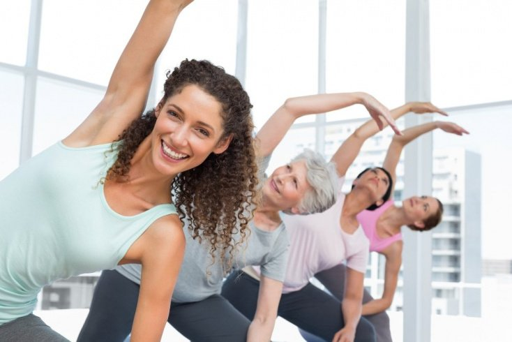 Физические упражнения для грудного и поясничного отделов