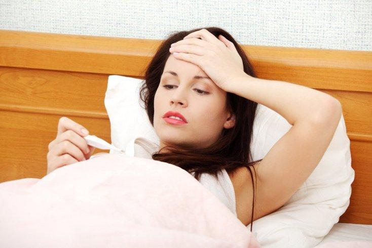 Высокая температура на фоне гриппа: лечение при беременности