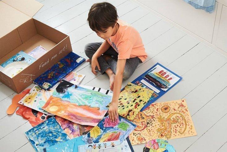 Артбук — избранное из творчества вашего малыша Источник: doodlenest.co.uk
