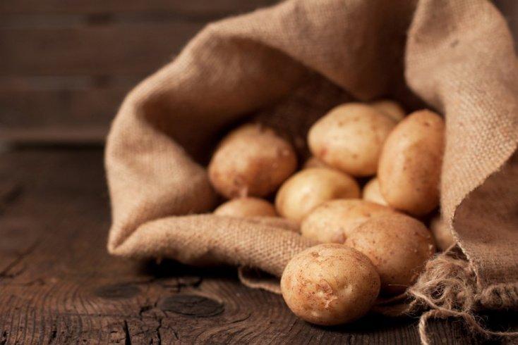 Продукты питания и красота: картофель