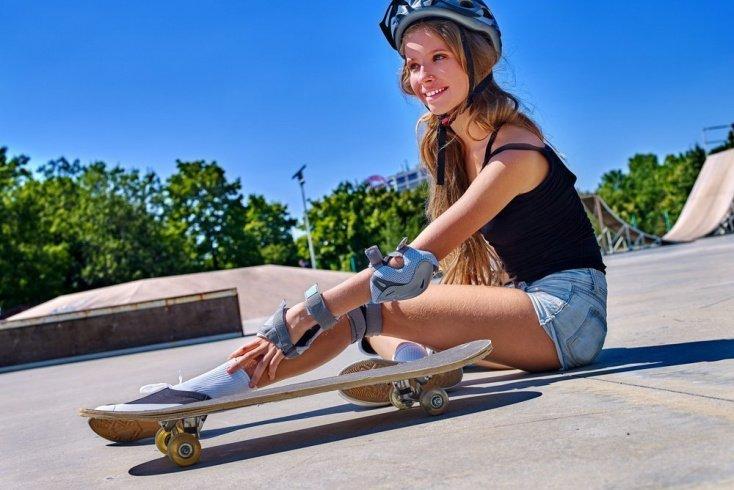 Особенности травм в скейтбординге