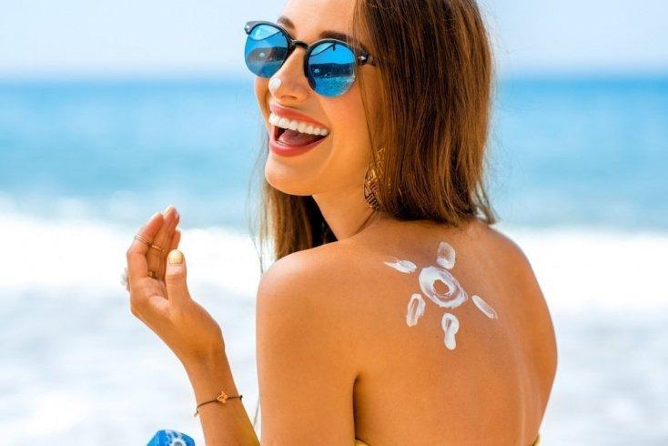 1. Используйте правильное количество солнцезащитного крема