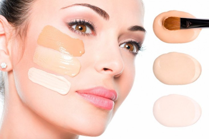 Неправильный выбор тонального крема для лица