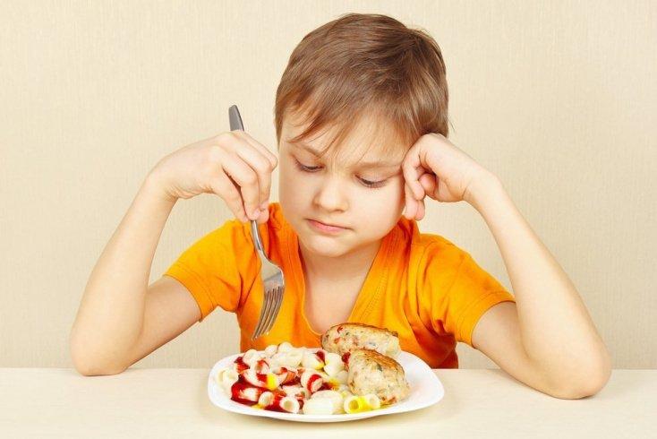 Проблемы аппетита у детей