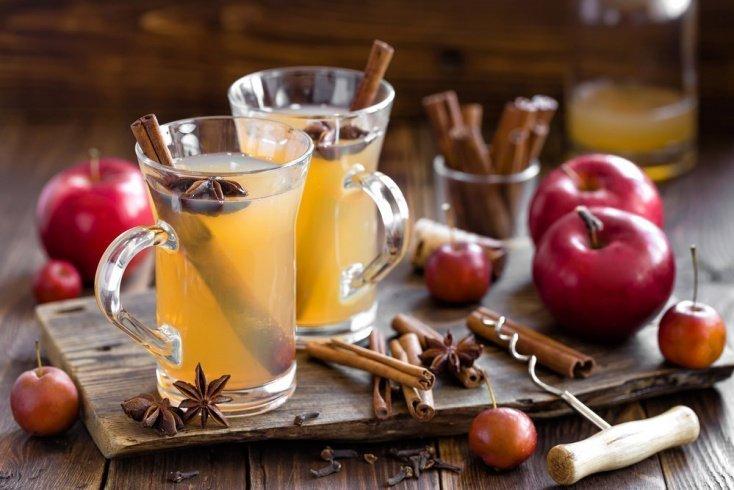 Яблочно-коричный коктейль к любому десерту