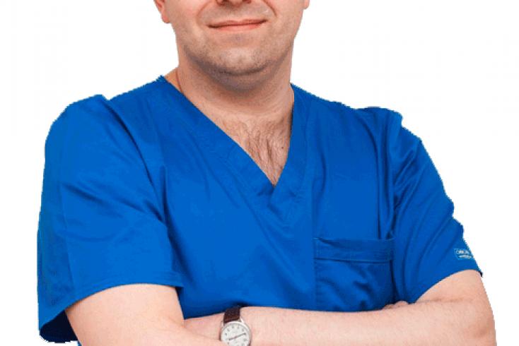 Александр Сергеевич Басос, к.м.н., ведущий хирург-гинеколог Центра репродукции и планирования семьи «Медика»