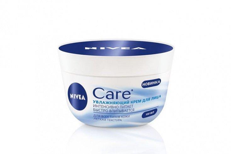 Увлажняющий крем для лица Care от Nivea, 100 мл Источник: market.chastnik-m.ru