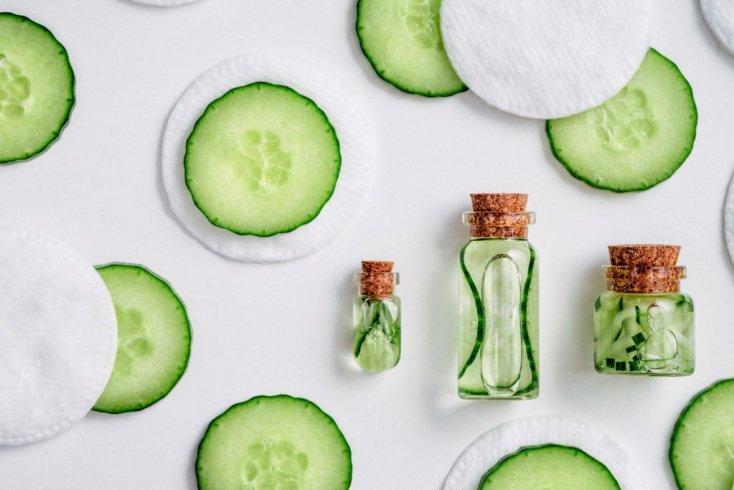Огурец — вкусный и полезный для кожи овощ