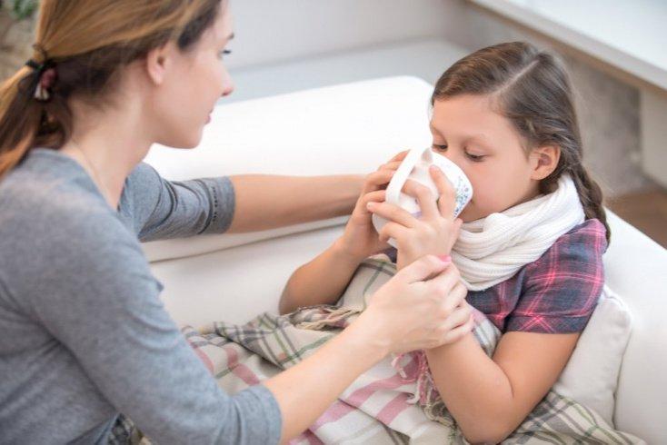 Особенности и причины сухого кашля у детей