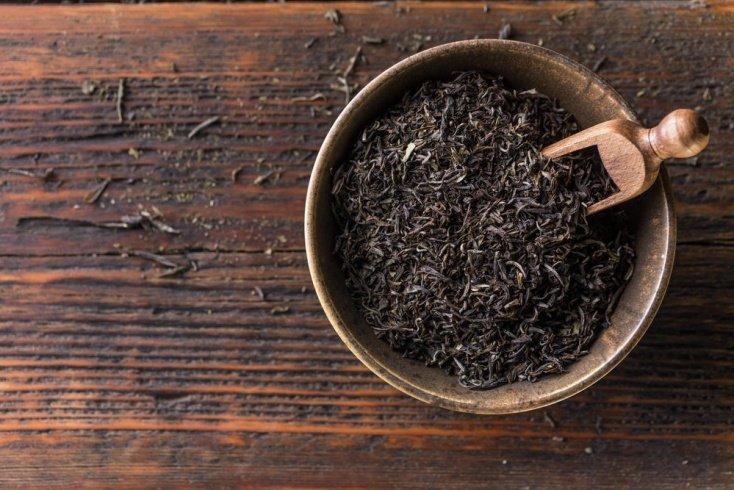Средство на основе черного чая