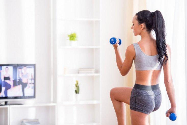 Комплекс упражнений для домашней тренировки