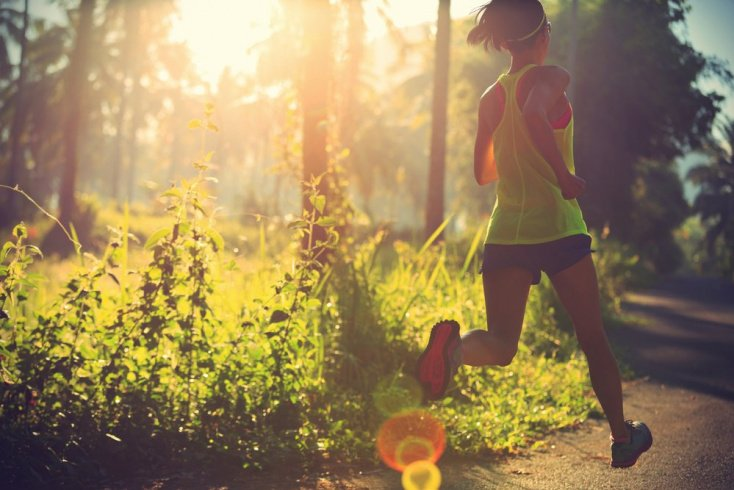 Бег — фитнес на стройность