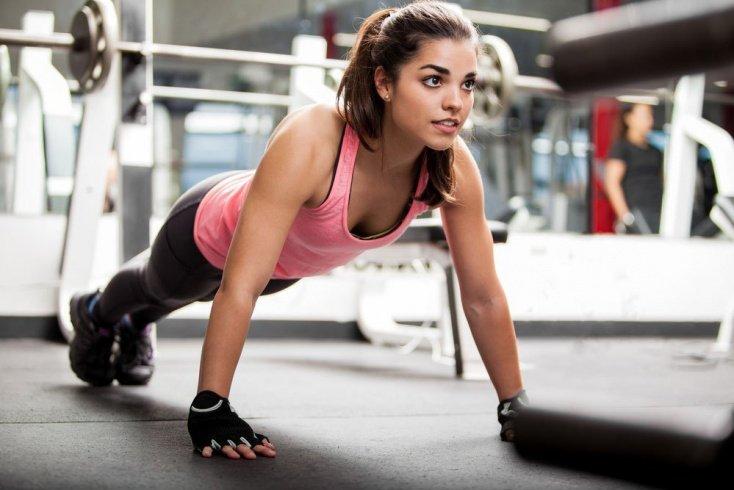 Список фитнес-упражнений для груди с подробным описанием