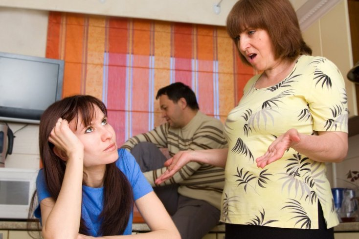 Проблемы в отношениях невестки и свекрови