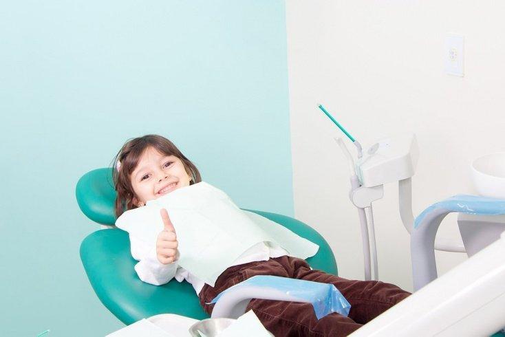 Начало прорезывания постоянных зубов