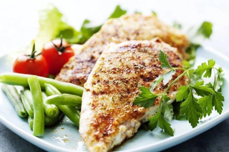 Курятина — еще один источник витамина U