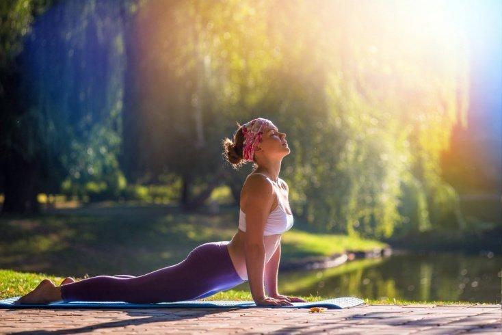 Фитнес-йога: комплекс упражнений
