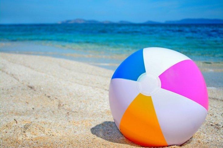 Игры с мячом на воде