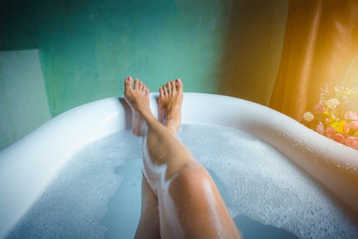 Нежная кожа: увлажняющая ванна