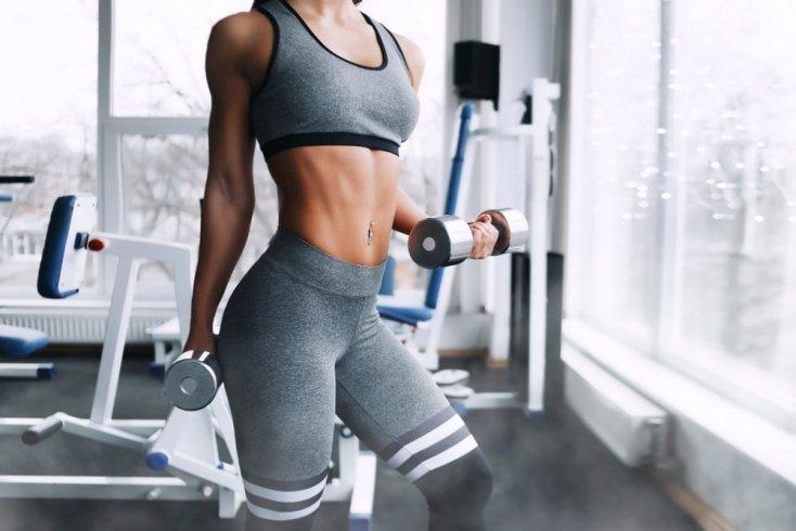 Базовая фитнес-тренировка с гантелями