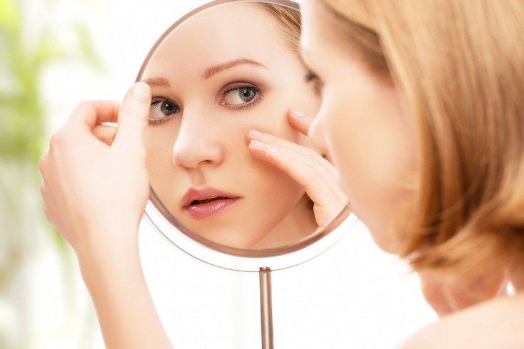 Проявления аллергии в области лица