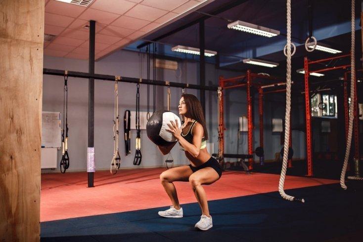 Упражнения в кроссфите