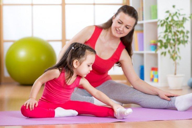 Развитие ребенка дошкольного возраста и важность утренней гимнастики