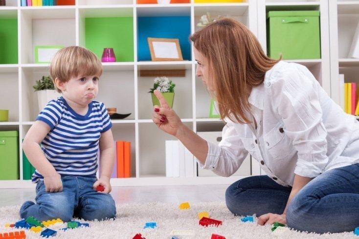 Если малыш провинился: важные исключения
