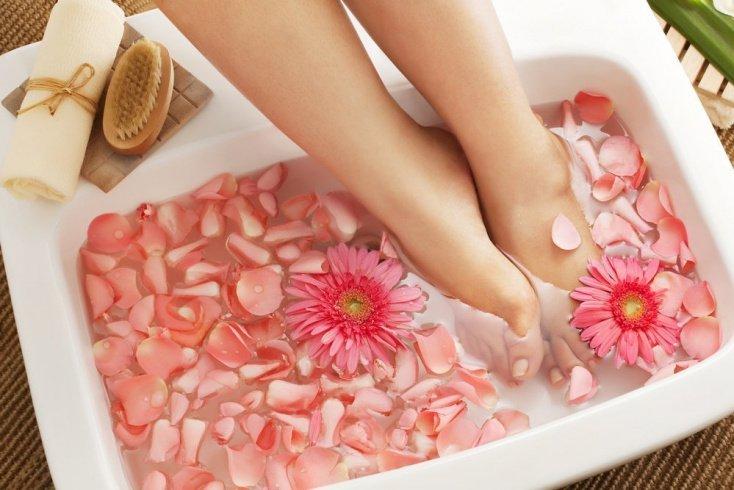 Теплая ванна для распаривания кожи