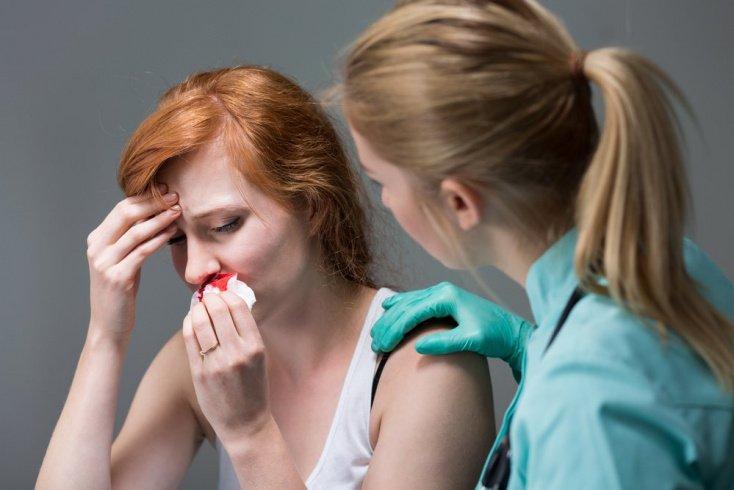 Повреждения перегородки носа: гематома, абсцесс