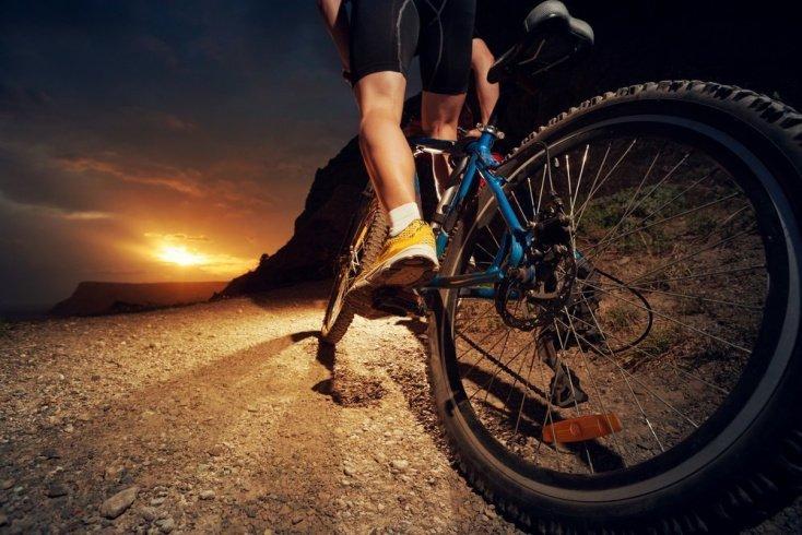 Работа мышц плечевого пояса во время занятий фитнесом на велосипеде