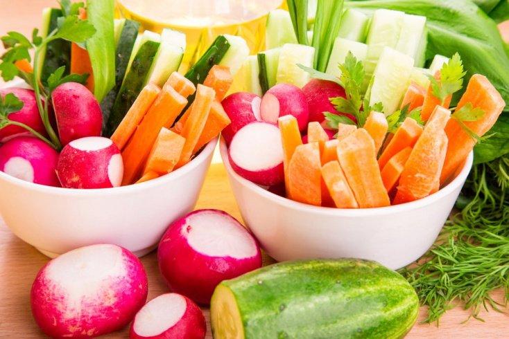Похудение на овощах: польза и вред