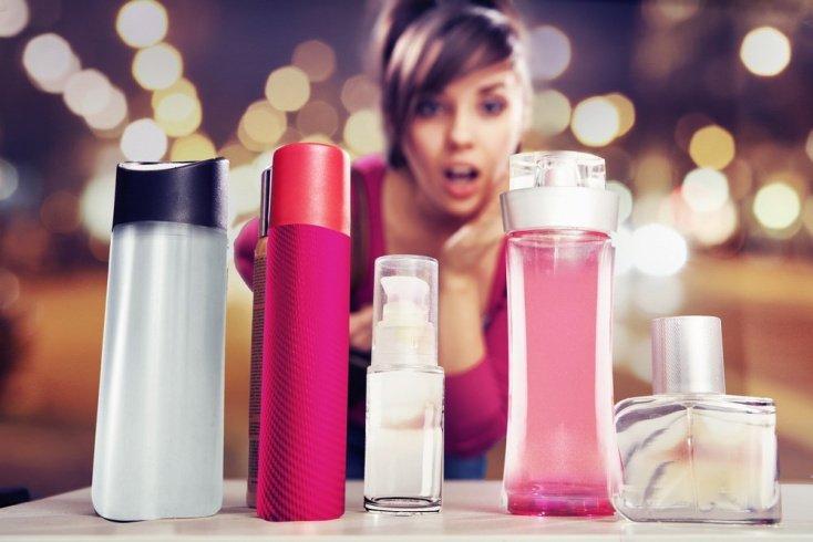 Совместные покупки уходовых средств и парфюма